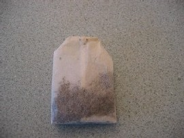 A non-Chinese teabag