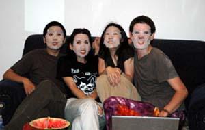 Face-melting victims